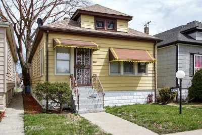 Chicago IL Single Family Home Re-Activated: $60,000