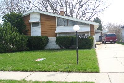 Markham Single Family Home For Sale: 16547 Paulina Street