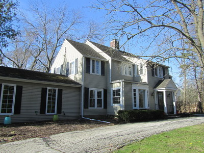 Lake Forest Single Family Home For Sale: 1259 West Old Mill Road