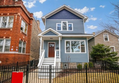 Single Family Home For Sale: 2655 West Winona Street
