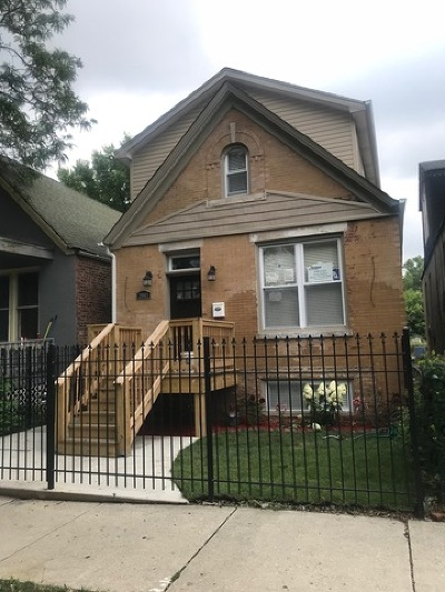 Chicago Single Family Home Re-Activated: 3941 West Arthington Street