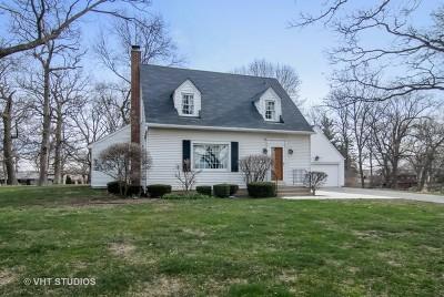 Elburn Single Family Home New: 43w860 Hughes Road