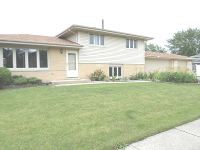 Tinley Park Single Family Home New: 6519 182nd Street
