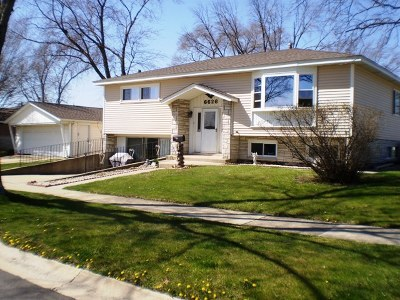 Tinley Park Single Family Home New: 6626 165th Place