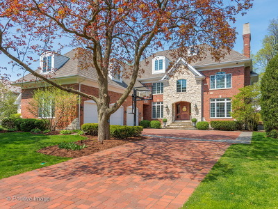 Clarendon Hills Single Family Home Price Change: 117 Eastern Avenue