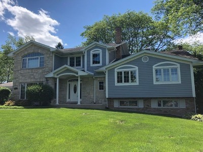Willowbrook Single Family Home For Sale: 6410 South Madison Street