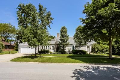 Western Springs Single Family Home For Sale: 4146 Ellington Avenue