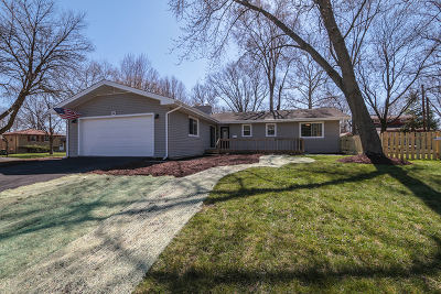 Naperville Single Family Home Price Change: 44 Elmwood Drive