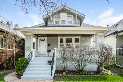 Oak Park Single Family Home Price Change: 826 Wenonah Avenue