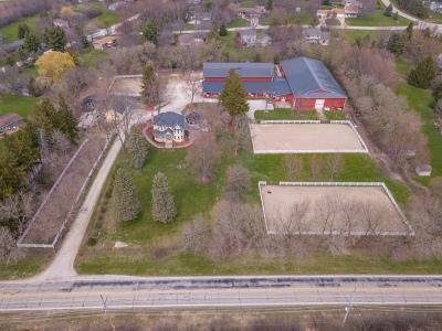 Kane County Single Family Home For Sale: 39w596 Old Burlington Road