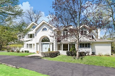 Oak Brook Single Family Home Re-Activated: 716 Acorn Hill Lane