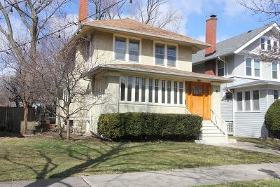 Oak Park Single Family Home For Sale: 847 South Kenilworth Avenue