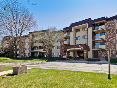 Arlington Heights Condo/Townhouse Re-Activated: 3350 North Carriageway Drive #304