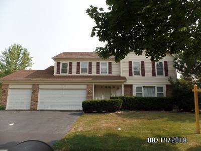 Schaumburg Single Family Home For Sale: 437 Woodcroft Court