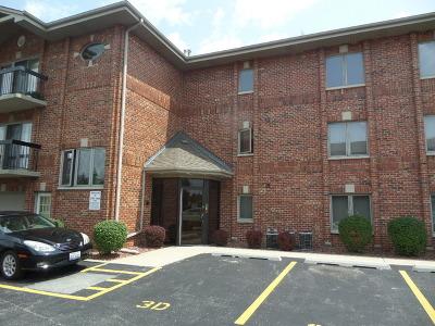 Chicago Ridge  Condo/Townhouse For Sale: 10710 Central Avenue #3E