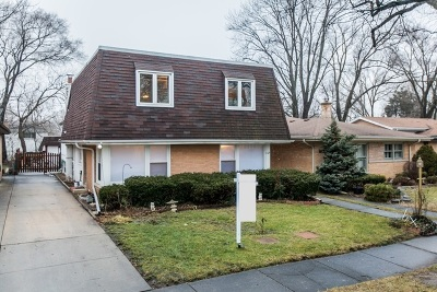 Wilmette Single Family Home For Sale: 609 Lacrosse Avenue