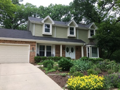 Lisle Single Family Home For Sale: 5333 Tall Tree Court