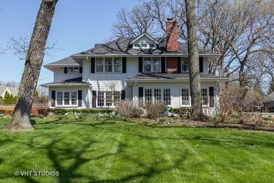 Flossmoor Single Family Home For Sale: 2425 Braeburn Avenue