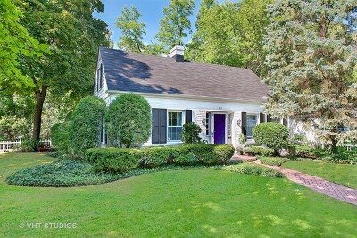Winnetka Single Family Home For Sale: 871 Eldorado Street