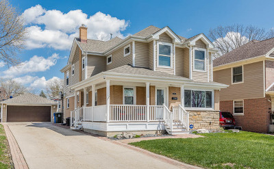 Mount Prospect Single Family Home Price Change: 111 North Kenilworth Avenue