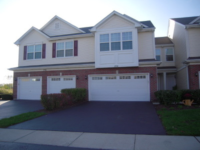 Romeoville Condo/Townhouse Re-Activated: 254 South Oak Creek Lane