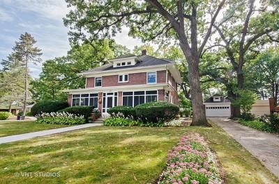 Elgin Single Family Home For Sale: 55 Hamilton Avenue
