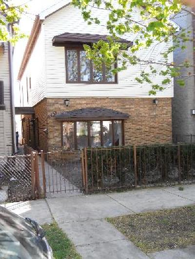 Single Family Home For Sale: 1365 West Hubbard Street