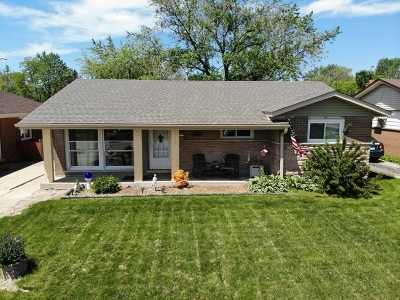 Tinley Park Single Family Home For Sale: 16504 67th Court