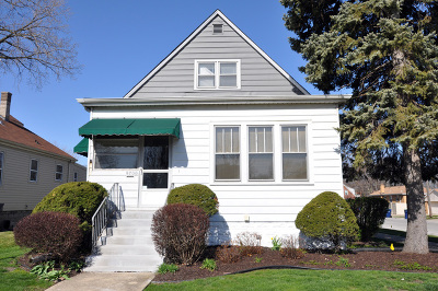 Evergreen Park Single Family Home For Sale: 9700 South California Avenue