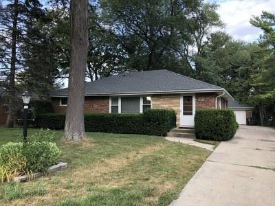 Glenview Single Family Home For Sale: 917 Shermer Road