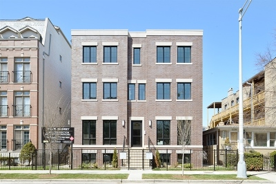 Condo/Townhouse For Sale: 1236 West Diversey Parkway #1E