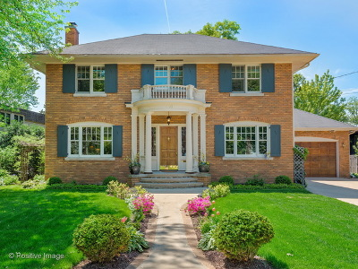 Glen Ellyn Single Family Home For Sale: 410 North Park Boulevard