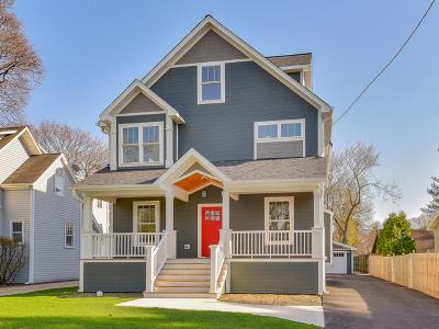 Wheaton Single Family Home For Sale: 206 East Harrison Avenue