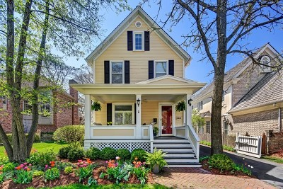 Hinsdale Single Family Home For Sale: 548 North Garfield Avenue