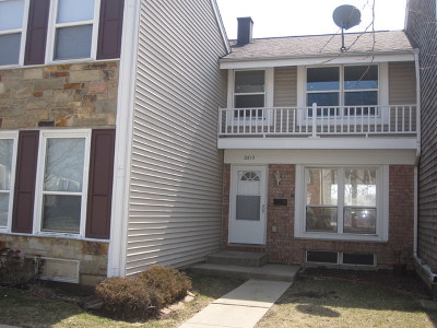 Hoffman Estates Condo/Townhouse For Sale: 2213 Stratham Place #2213