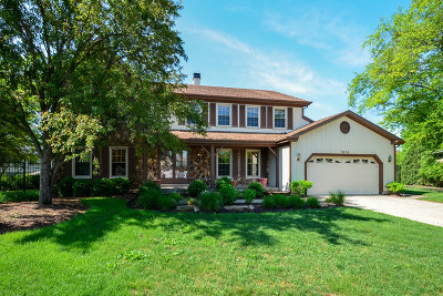 Hoffman Estates Single Family Home Re-Activated: 3854 Moulin Lane