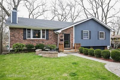 Fox River Grove Single Family Home Contingent: 505 Park Court