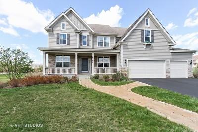 Barrington Single Family Home Price Change: 28192 West Maple Avenue