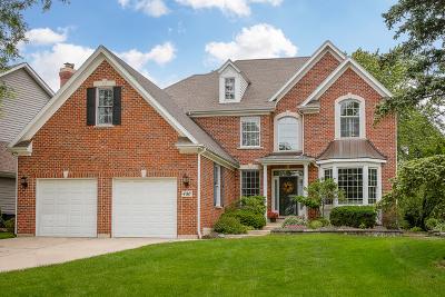 Glen Ellyn Single Family Home Price Change: 480 Arlington Avenue
