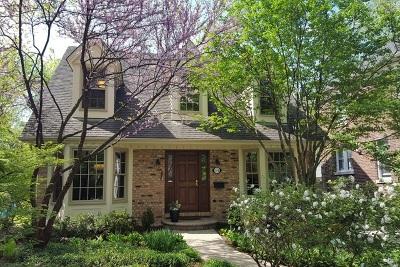 Wheaton Single Family Home For Sale: 314 East Harrison Avenue