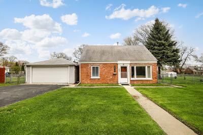 Melrose Park Single Family Home Price Change: 3001 La Porte Avenue