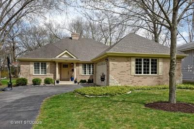 Barrington Single Family Home Price Change: 235 South Glendale Avenue