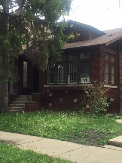 Chicago Single Family Home New: 4043 West Wellington Avenue