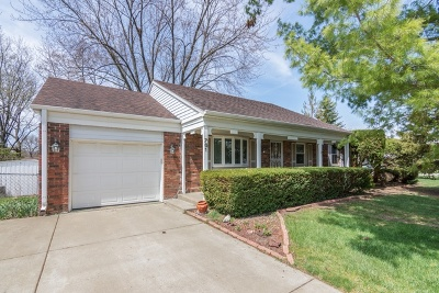 Buffalo Grove Single Family Home Contingent: 761 Wyngate Lane