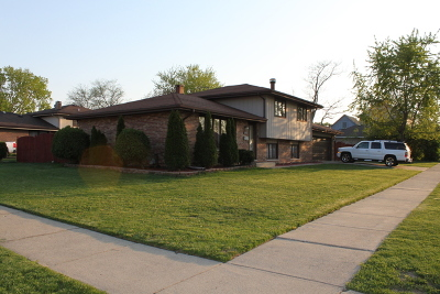 Alsip  Single Family Home For Sale: 12200 South Rexford Street