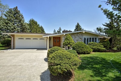 Oak Brook Single Family Home Price Change: 23 Croydon Lane