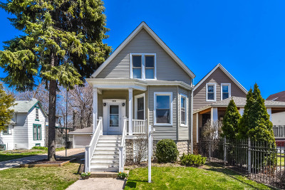 Chicago Single Family Home Re-Activated: 4451 North Kenton Avenue