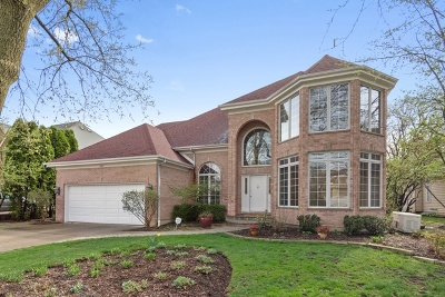 Palatine Single Family Home Price Change: 1499 North Trailside Court