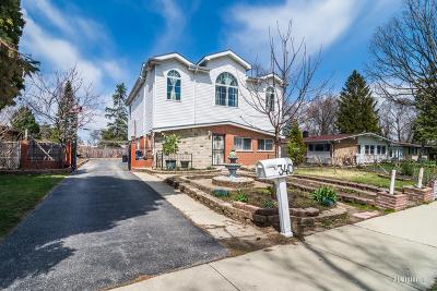 Addison Single Family Home For Sale: 340 West Natoma Avenue
