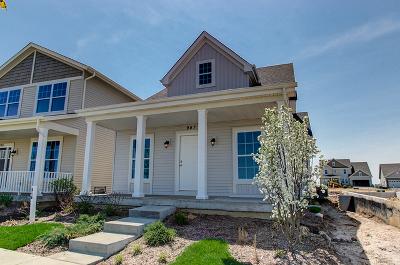 Elburn Single Family Home Price Change: 947 Station Boulevard
